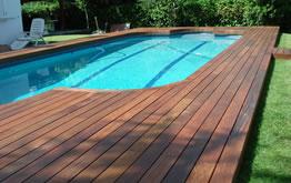 Tarimas sinteticas para piscinas